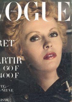 Vogue Paris Cover April 1972 - Jean Seberg by Helmut Newton