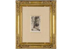 "Whistler, The Rag Gatherers, 1858 on OneKingsLane.comDimensions:6"" x 3 1/2"""