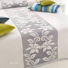 PDF Crochet bedspread pattern bedcover Crochet by Marypatterns Filet Crochet, Crochet Motifs, Crochet Quilt, Crochet Cushions, Crochet Art, Thread Crochet, Irish Crochet, Crochet Doilies, Crochet Patterns