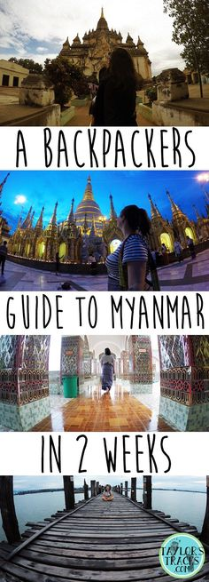 The Perfect 2 Week Myanmar Itinerary (The Best Myanmar Backpacking Guide) Learn how to spend 2 weeks Laos, Vietnam, New Travel, Asia Travel, Cheap Travel, Travel Guides, Travel Tips, Travel Hacks, Koh Lanta Thailand