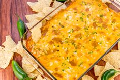 Your Favorite Mexican Food Flavors, All In One Cheesy Dip…