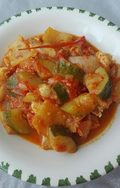Slimgastro: Spanyol lecsó Lecso Recipe, Ratatouille, Cook Books, Meals, Ethnic Recipes, Drinks, Food, Drinking, Beverages