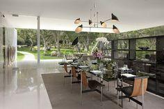 Pabellón de Cristal: Casas Modernas de Lujo por Hermann casas modernas 4