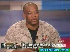 Olbermann interviews marine veteran who shamed police - Sgt Shamar Thomas - Occupy Wall Street. Inspiring for sure.