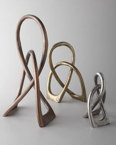 Aged Metal Sculptures by John-Richard Collection at Neiman Marcus.
