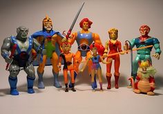 ThunderCats action figures | 25 Awesome '80s Toys You Never Got, But Can Totally Buy Today