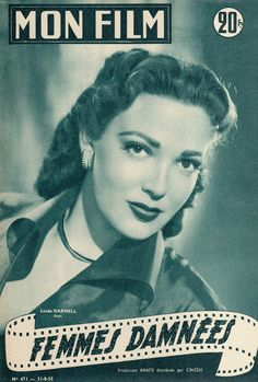 TO DIY OR NOT TO DIY: LINDA DARNELL 1955