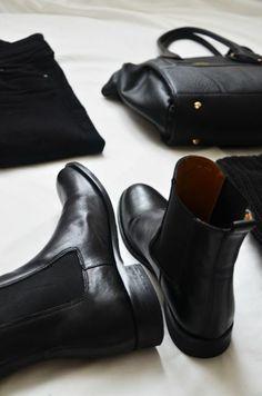 les bottes minelli noires pour les femmes modernes