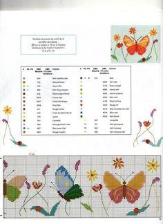 borboletas com flores 2