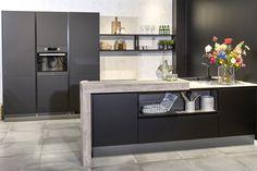 Eiland Keuken Zwart : Beste afbeeldingen van zwarte keukens in