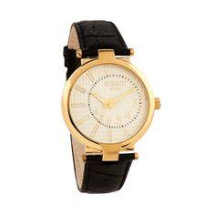 Series Black, Gold Watch, Black Leather, Seasons, Blue, Accessories, Fashion, Moda, Fashion Styles