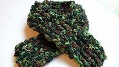 Camo Knit Scarf Neck Warmer | KallieJosCottonPatch - Accessories on ArtFire #afpounce