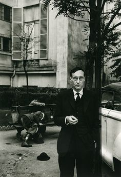 Brion Gysin – William Burroughs (Naked Lunch Launch series, Paris, October 1959.