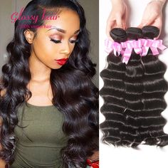 Hair Weaving Brazilian Loose Deep Wave Tissage Bresilienne lots 4 Bundles Brazilain Virgin Hair Ocean Wave Deep Wave Brazilian Cheap Bundles -- Clicking on the image will lead you to find similar product