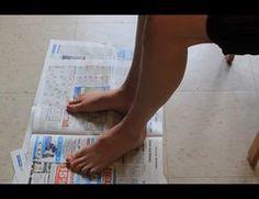 Spiraldynamik für den Fuß - eine Anleitung