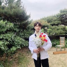 Image may contain: one or more people, people standing, tree, plant, outdoor and nature Drama Korea, Korean Drama, Kim Myungsoo, L Infinite, Woollim Entertainment, Lee Sung, Perfect Boy, Kpop, Dimples