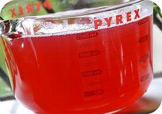 Rosy ~ Posy: Homemade Rhubarb Juice ~ Recipe