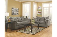 Flash Furniture Darcy 2 Piece Signature Design By Ashley Living Room Set