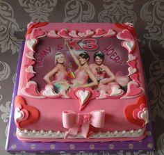 K3 taart K3 (Dutch girl band) cake