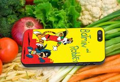 Batmin and Robbes for iPhone 4/4s iPhone 5/5S/5C by dewapetir