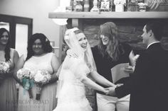 Brides sister from out of state was the  officiant