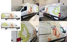 Office Plus Freiburg: Fahrzeugebeschriftung