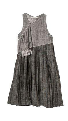 Dresses : Dress Pleated Diagonal