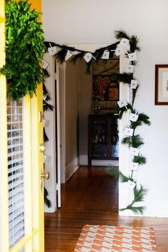 oh my deer handmades: RESHARE FROM '13 : GARLAND ADVENT DIY