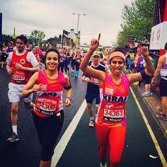 "Woman Runs London Marathon Without a Tampon Bleeds Freely to Raise Awareness - London Marathon Woman Runs London Marathon Without a Tampon Bleeds Freely to Raise Awareness Harvard Business School graduate Kiran Gandhi 26 said: ""I ran with blood dripping down my legs. I felt very empowered by that"" Viral London Marathon http://youtu.be/RSfbhMrpXC8"