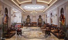 Arabic majlis in Dubai