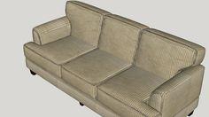 Davey Sofa - 3D Warehouse