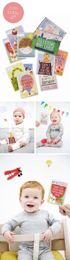 Studio ToutPetit: Milestone Mondays * Milestone Baby Cards