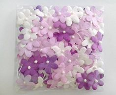 Purple Tone 100 Mulberry paper Blossom Flower Wedding Scrapbooking 20 cm * Click image to review more details.Note:It is affiliate link to Amazon.