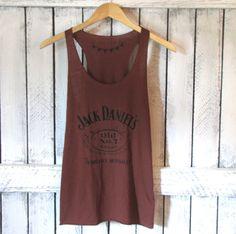 820ef42bba21 FREE SHIPPING- Rustic Red Jack Daniels Tank