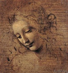 Leonardo da Vinci - Female head