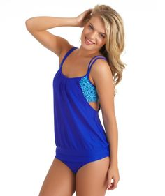 Amazon.com: Next Women's Inner Chakra Double Up Tankini Top: Clothing