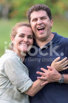 Smiling Mature couple royalty-free stock photo