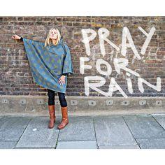 Rainwave rain ponchos