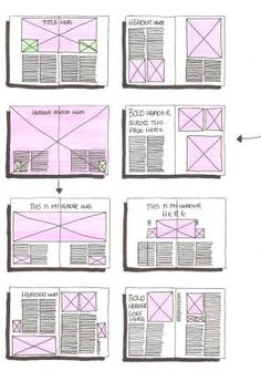 Great #layout ideas!   #Editorial Design