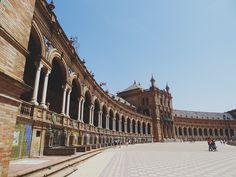 Avenue. Spain. Seville. South. Europe. Trip. Travel. Traveling. Photograph. Art | Instagram: cbriannem