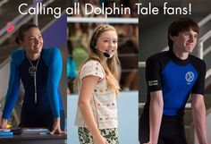 The stars are coming back to town! Don't miss out on your opportunity to meet your favorite actors from the Dolphin Tale films. Dolphin Tale 2, Sea Dolphin, Famous Surfers, Clearwater Marine Aquarium, Pet Rats, Save Animals, Killer Whales, Exotic Pets, Movies Showing