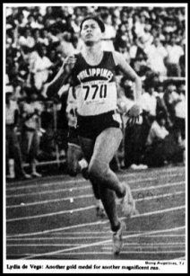 Lydia De Vega-Mercado (born December 12, 1964[1]) is a former athlete from the Philippines, was considered Asia's fastest woman in the 1980s. #Philippines #Pilipinas #Filipina #PinoyPride #Pinoy #trackandfield #athlete #sports