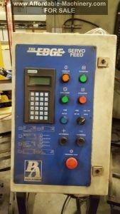 6000lb PA Industries Servo Feeder & Jaybird Power Reel For Sale