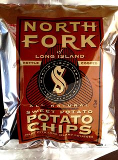 REVIEW: North Fork of Long Island - Sweet Potato Chips