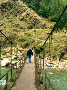 Kasol, HImachal Pradesh. Start of the trek to Chail. #Israelitown.