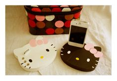 Hello Kitty iPhone 4 Charger White by iBigfoot on Etsy, $28.99