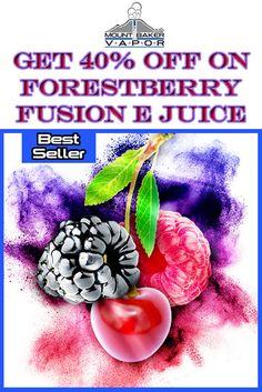 Mt Baker Vapor is offering 40% discount on Forestberry Fusion E-juice baker Vapor. Donot miss this wonderful deal. For more Mt Baker Vapor Coupon Codes visit: http://www.couponcutcode.com/stores/mount-baker-vapor/