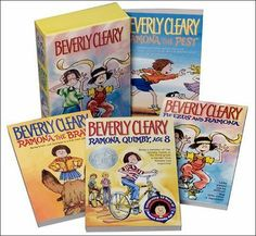 LOVE the Ramona books.  Love Beverly Cleary in general.
