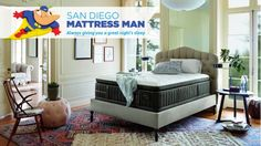 Stearn's & Foster Luxury Estate mattress.   From soft cashmere to luxurious…