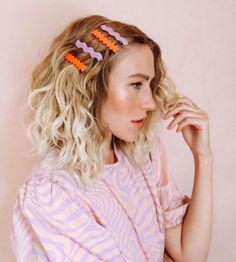 Scarf Hairstyles, Pretty Hairstyles, Biscuit, Polymer Clay Ring, How To Make Clay, Def Not, Hair Trends, Hair Pins, Hair Makeup